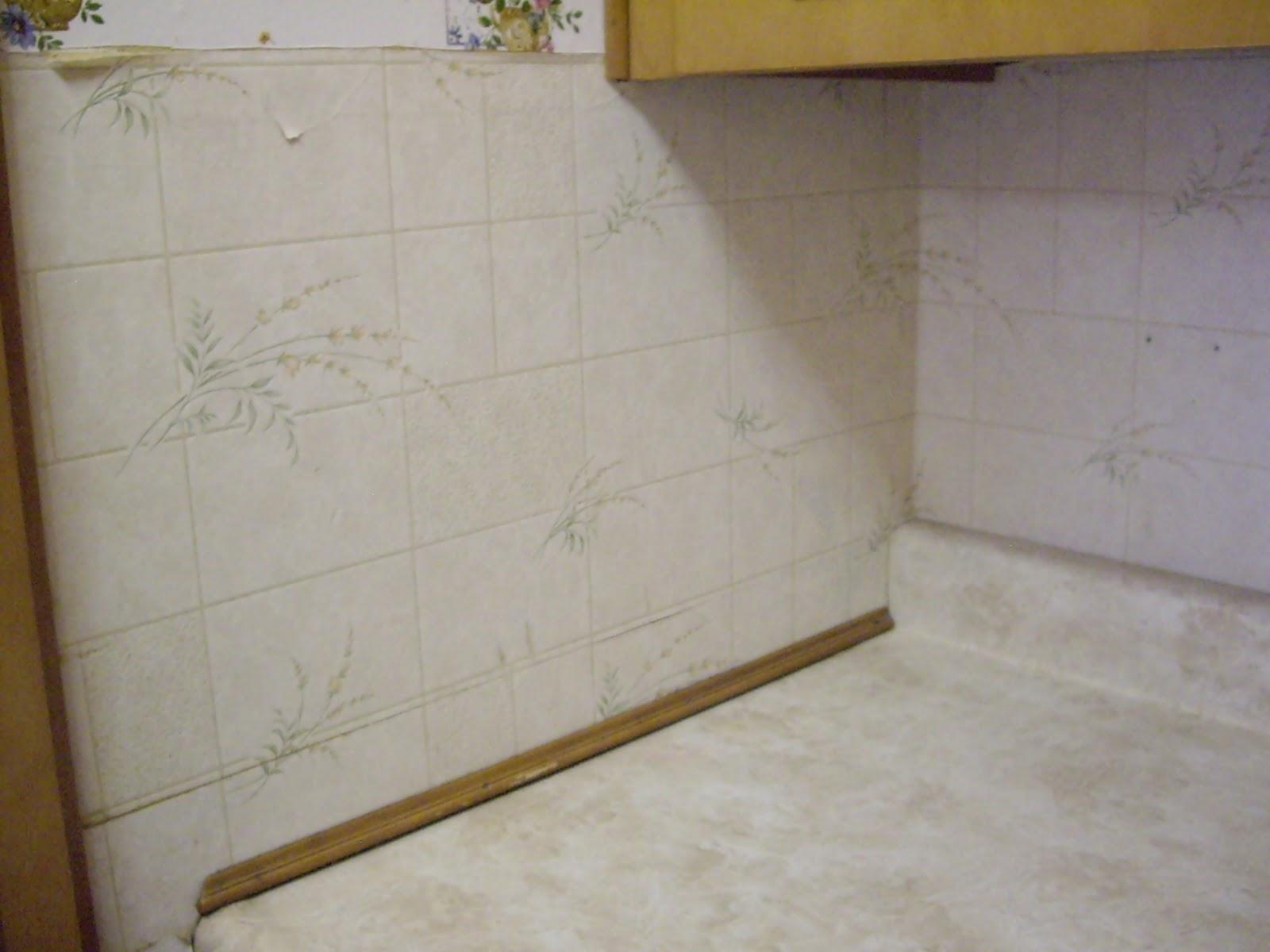 Vinyl Wallpaper Kitchen Backsplash 1600x1200