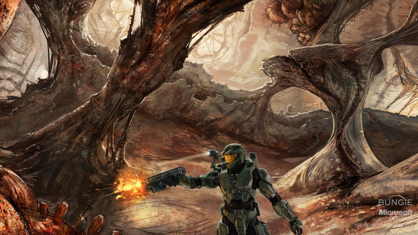 you may also like halo 4 hd wallpaper halo dual screen wallpaper halo ...