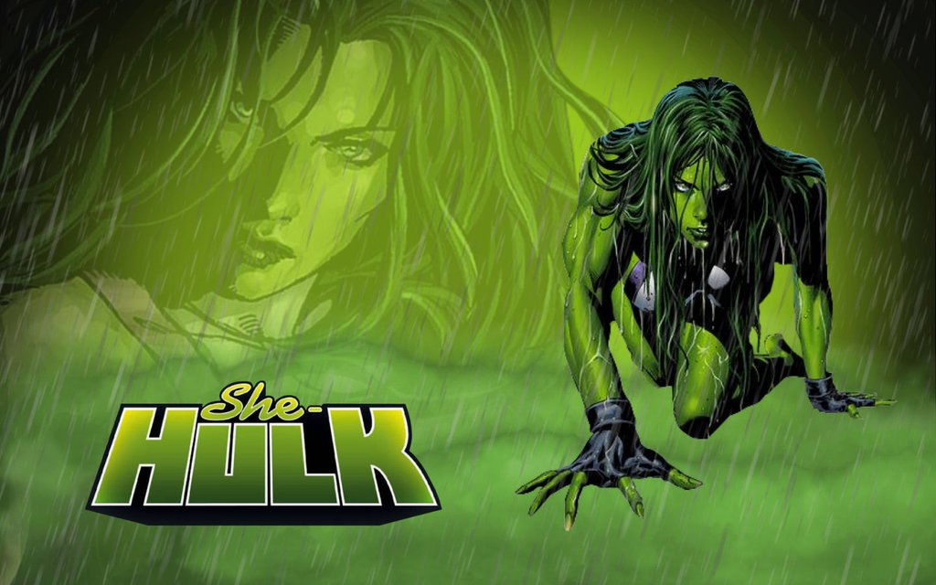 She Hulk by Superman8193 1024x640