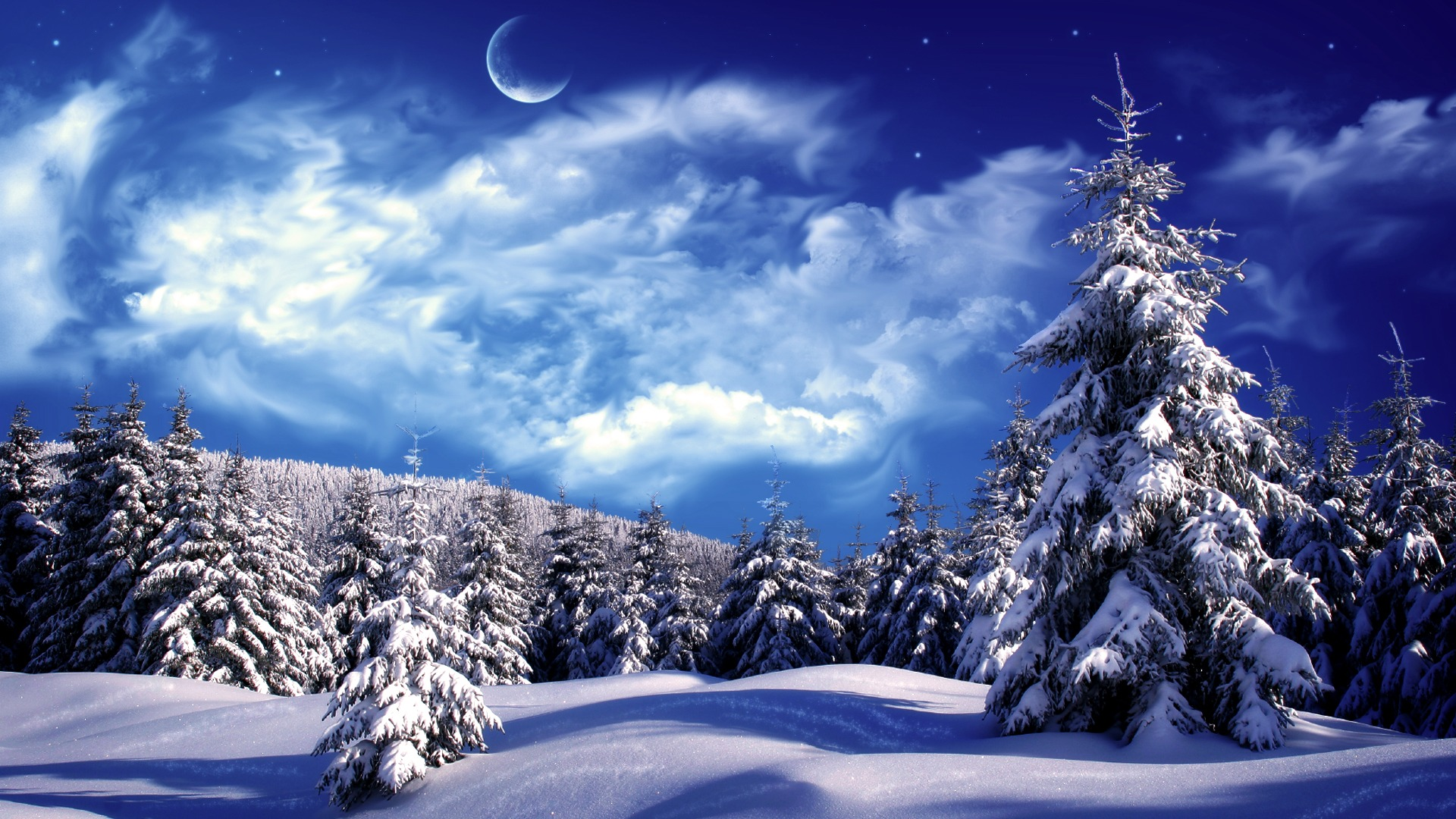 christmas winter scenes wallpaper which is under the winter wallpapers 1920x1080