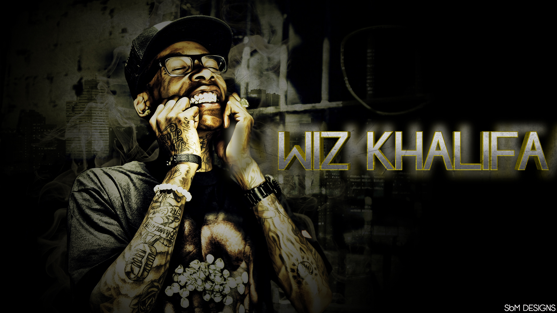 Wiz Khalifa Name 3 Rap Wallpapers 1920x1080