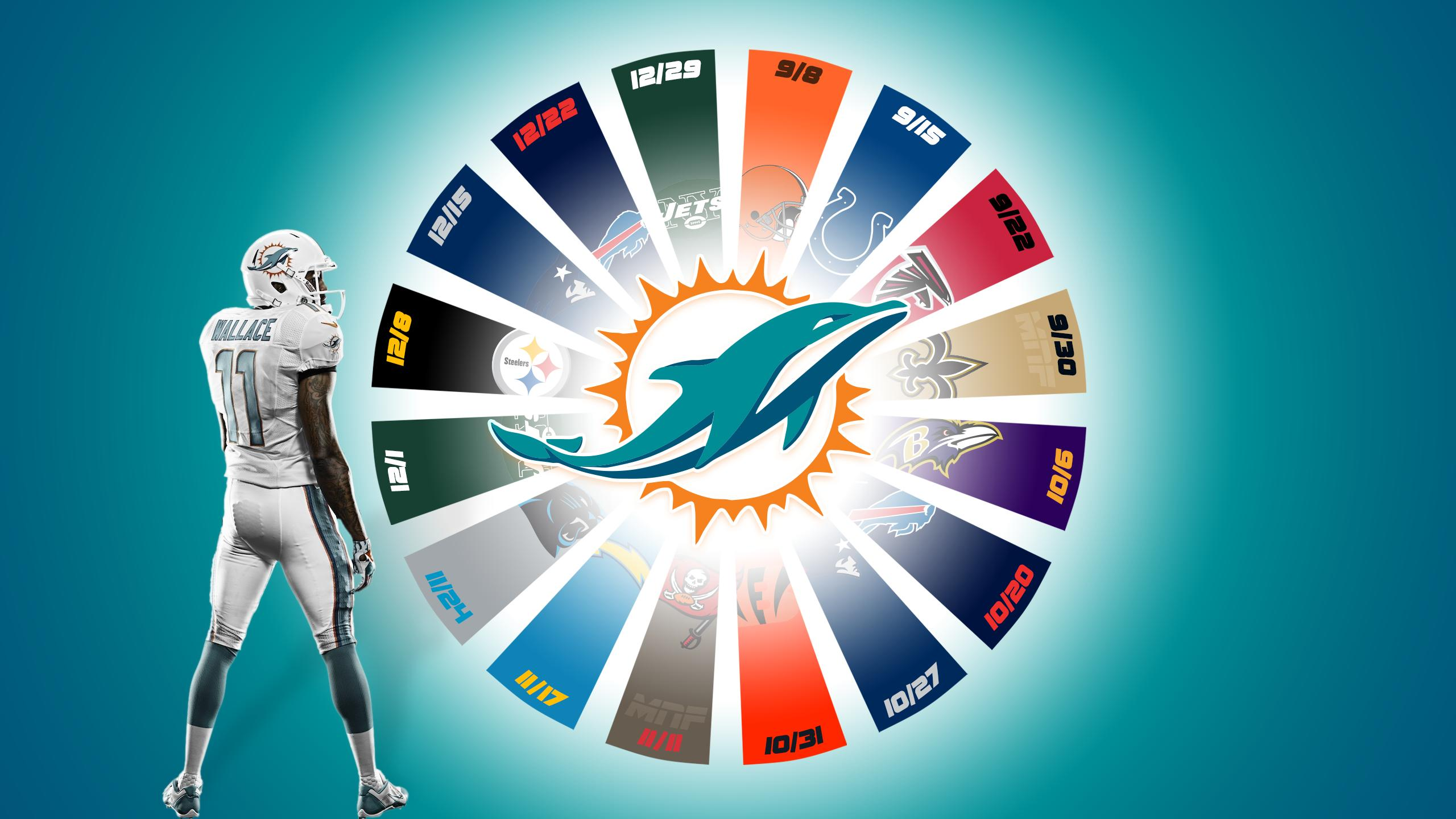 Miami Dolphins Wallpapers HD 2560x1440