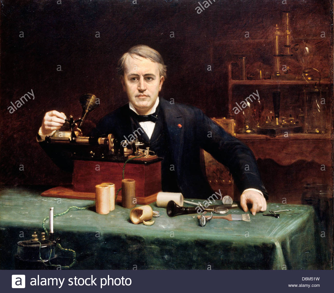 Thomas Alva Edison Stock Photos Thomas Alva Edison Stock Images 1300x1140