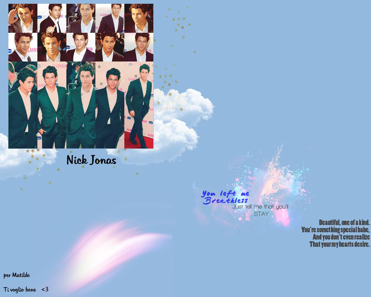 Nick Wallpaper   Nick Jonas Wallpaper 12916424 1280x1024