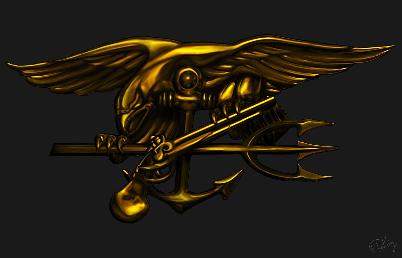 Navy Seal Trident Wallpaper 1400x900