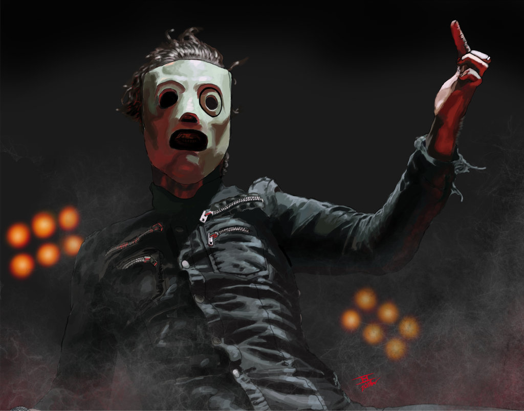 Corey Taylor from Slipknot by NightOwlToSS 1024x804