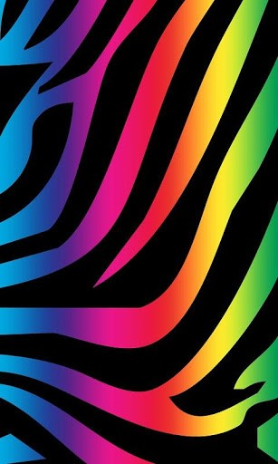 Free Download Rainbow Zebra Print App For Android 307x512