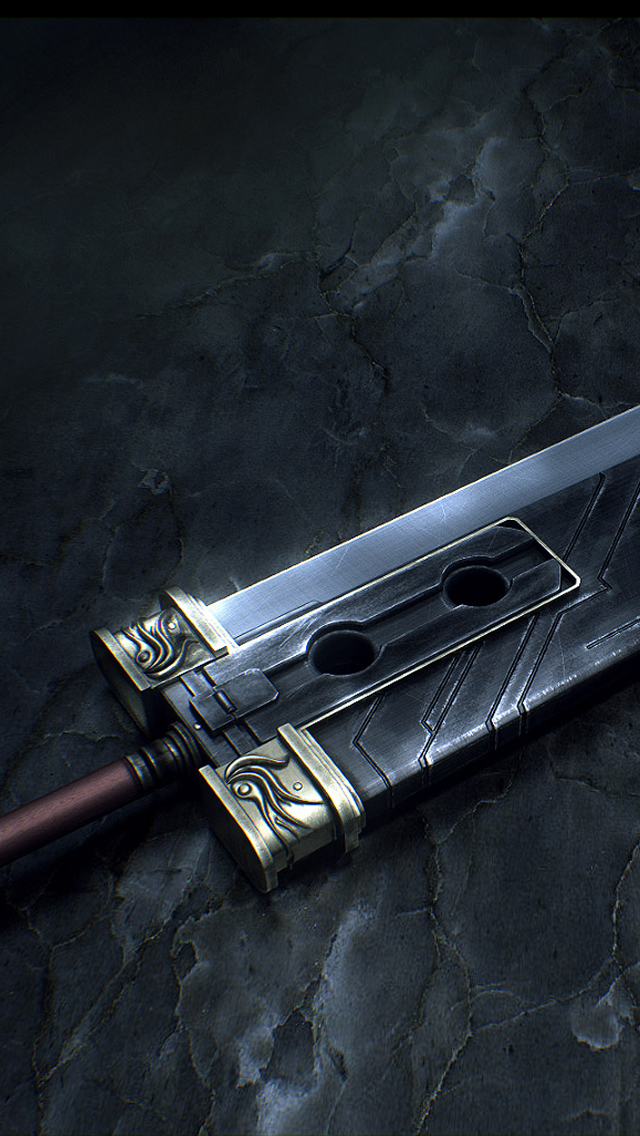 Final Fantasy Sword iPhone 5 wallpaper ilikewallpaper com Blog 640x1136