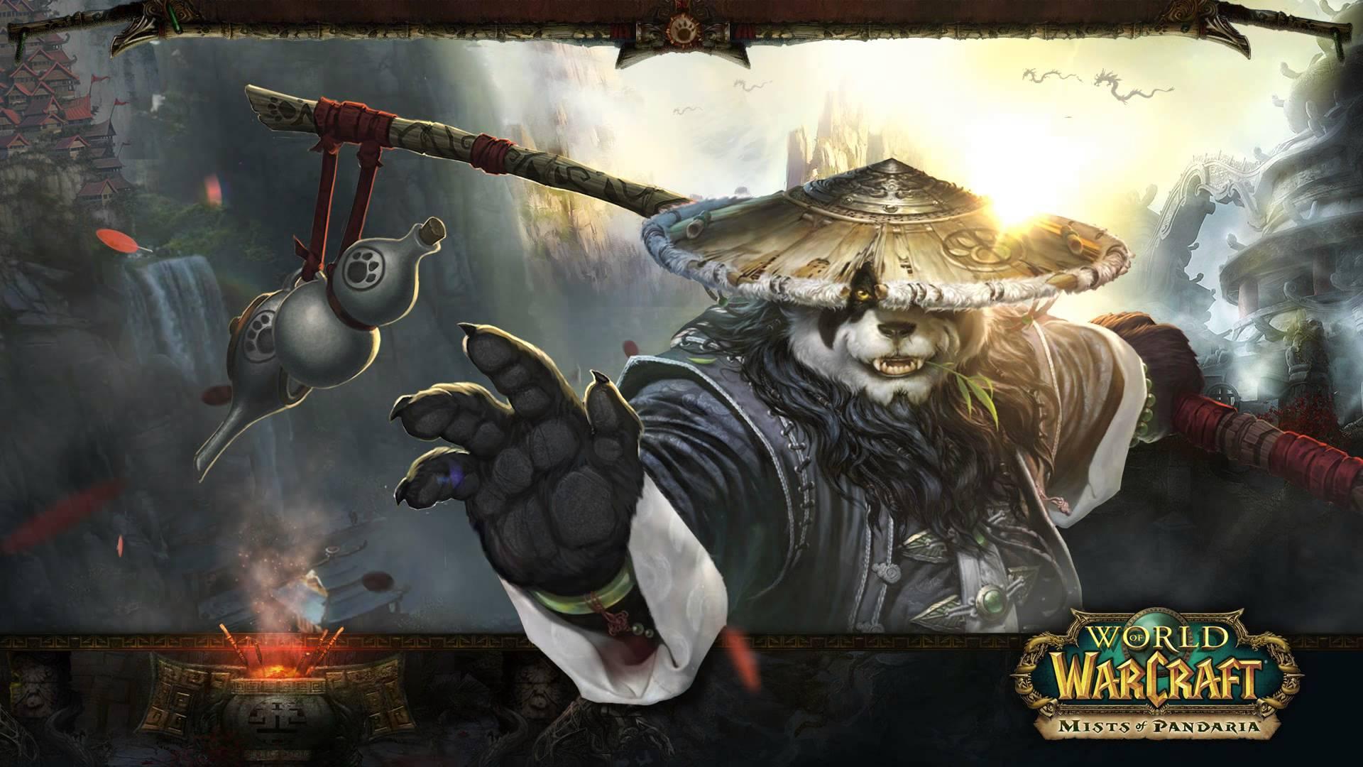 World of Warcraft Chen Stormstout Animated Wallpaper 1920x1080