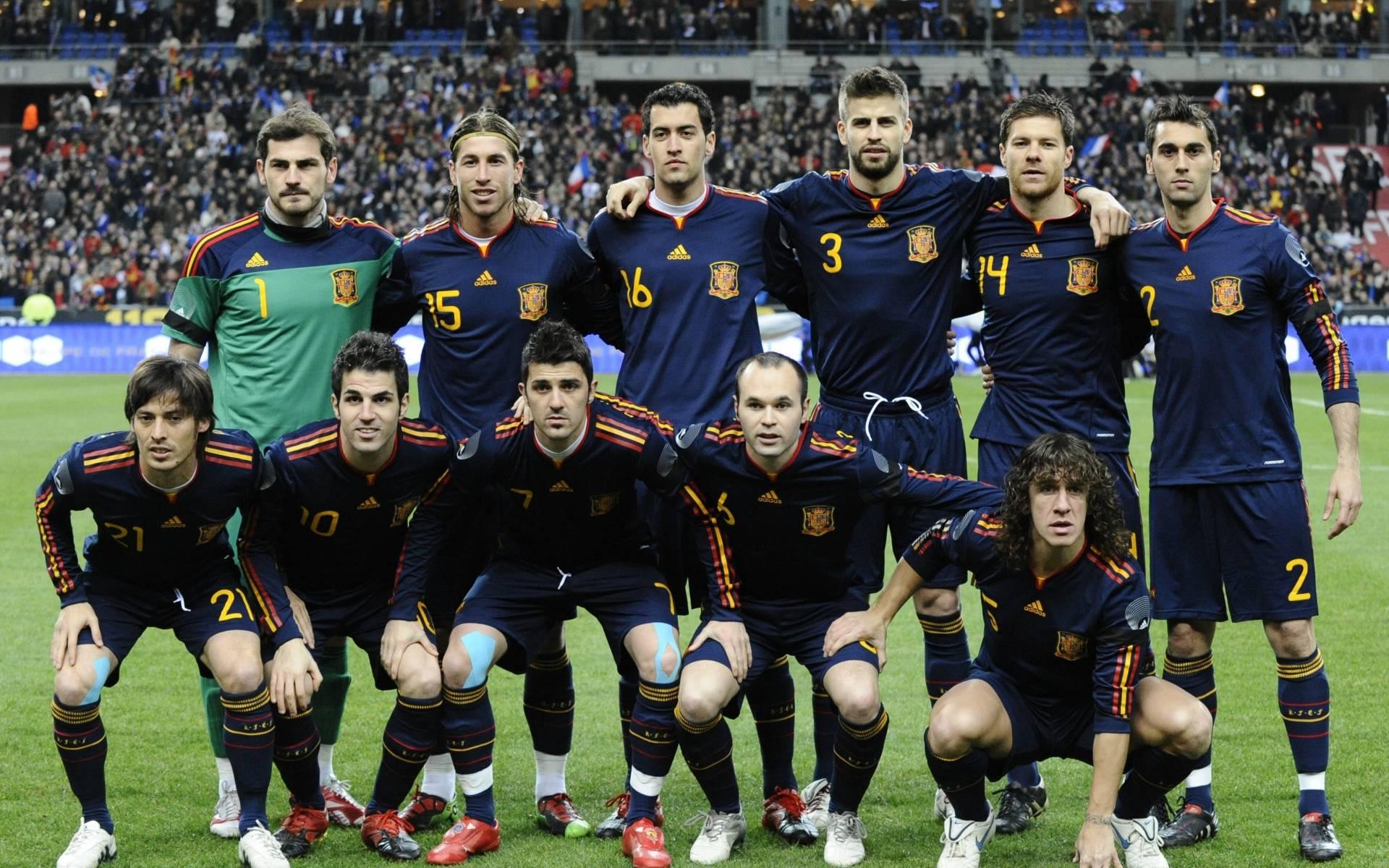 Spain Football Team Squad Wallpaper   Football HD Wallpapers 1920x1200
