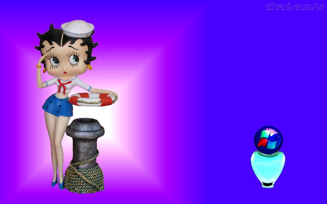 Betty Boop 1280x800