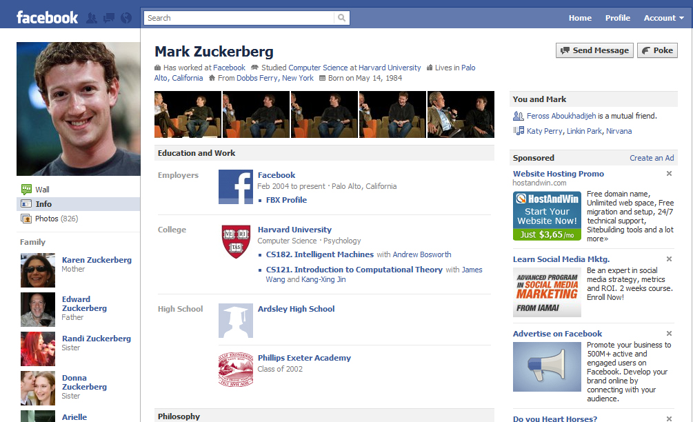Free download Profile Facebook Layouts Facebook New Layout