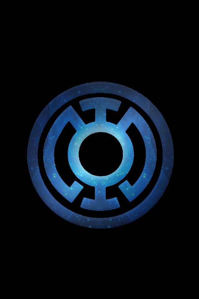More Artists Like Blue Lantern Logo Wallpaper by SUPERMAN3D 640x960