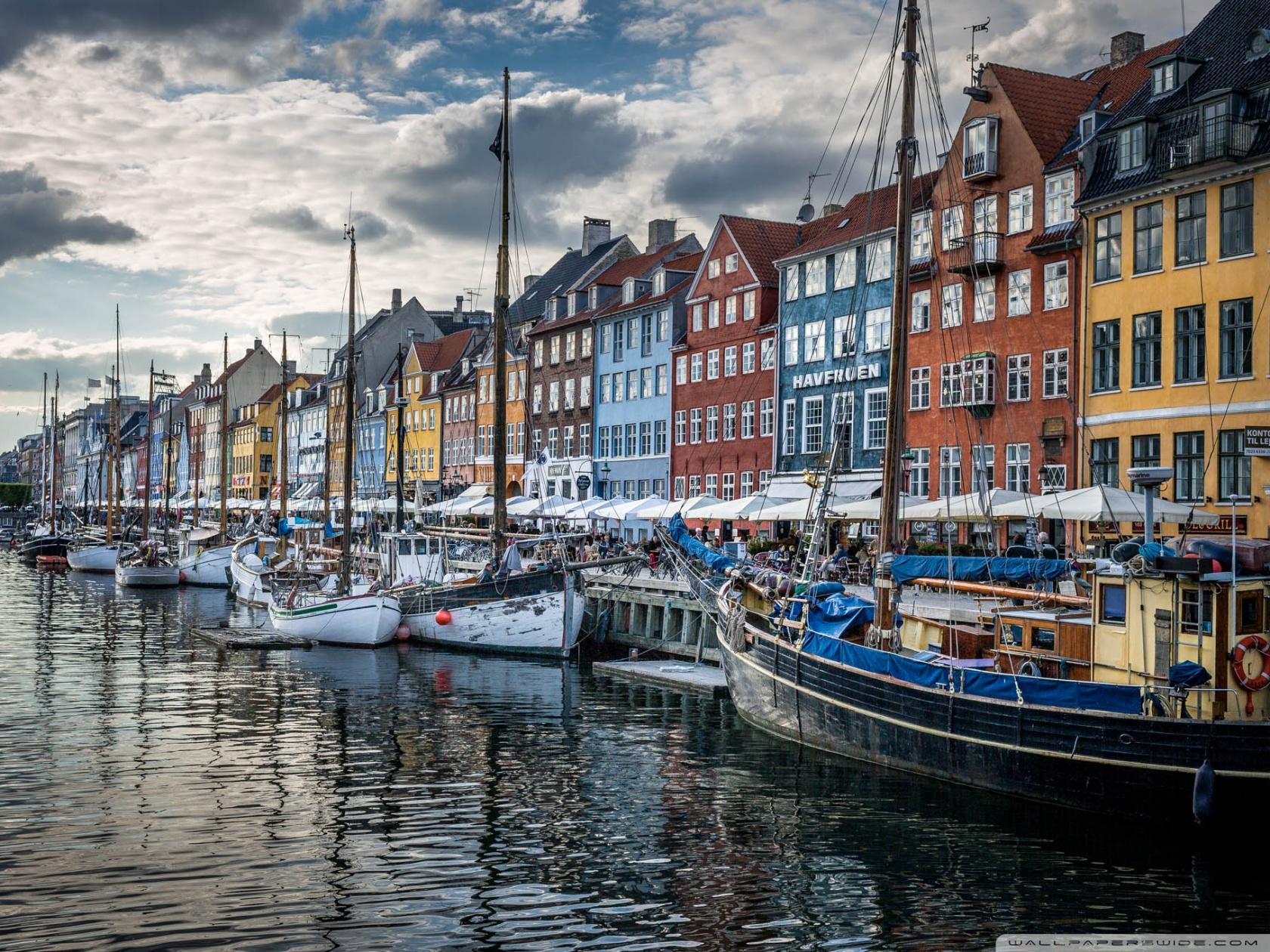 Copenhagen Denmark 4K HD Desktop Wallpaper for 4K Ultra HD TV 1680x1260