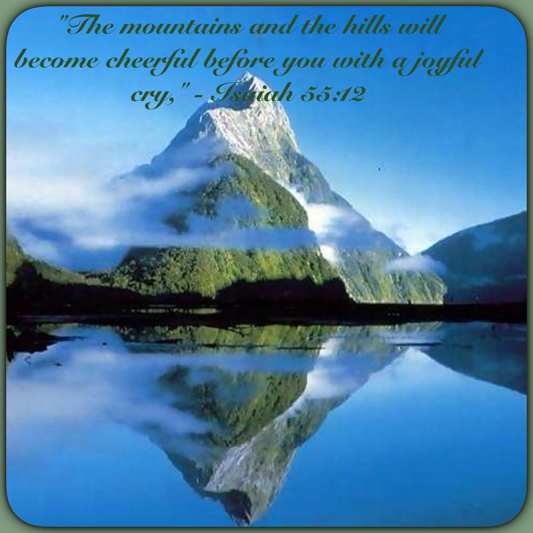 Landscape Colour Background New isaiah 55 12 jehovah is My 2048x2048