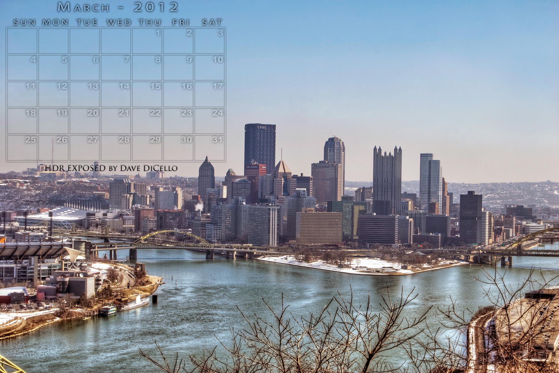 Pittsburgh skyline wallpaper 2401x1600