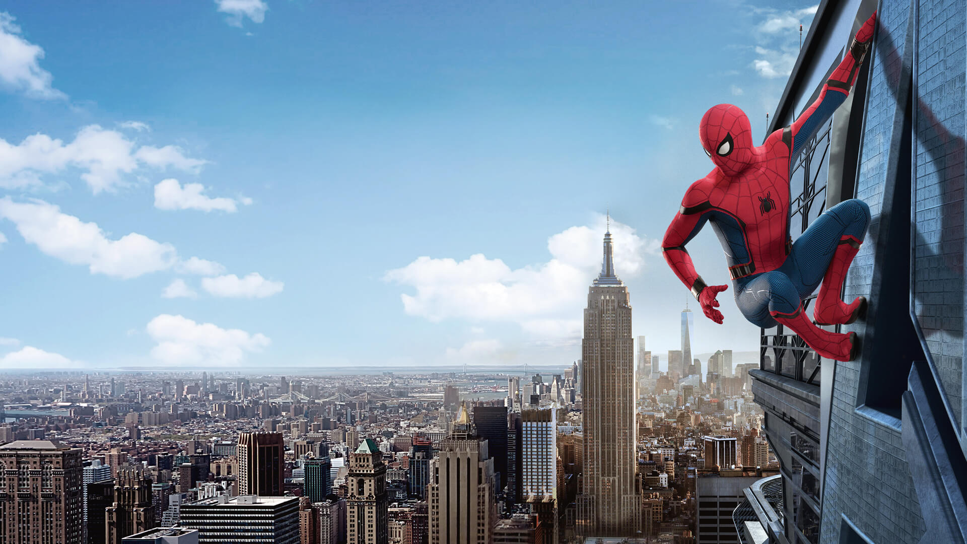 WALLPAPER] Fan Manipulated Spider Man Homecoming Promo 1920x1080 1920x1080