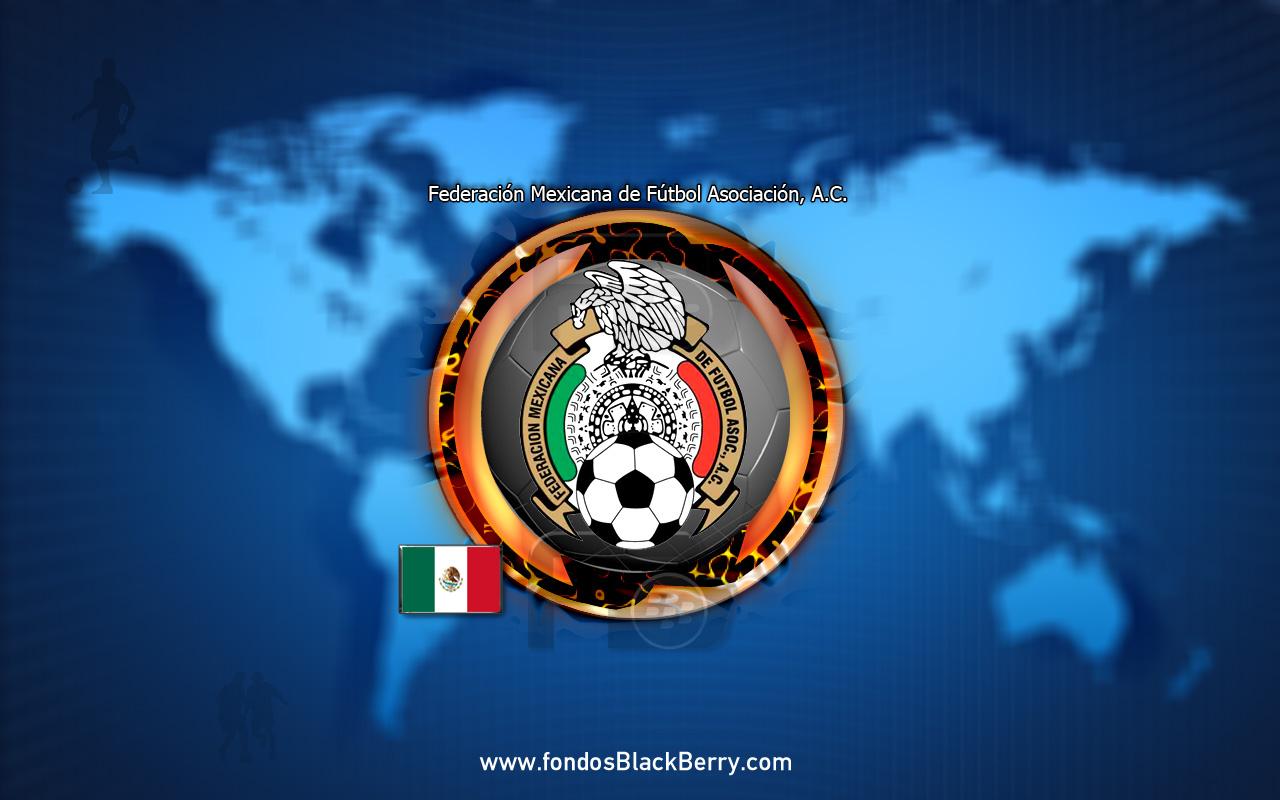 Mexico Logo Federacion Mexicana de Futbol Asociacion AC wallpaper 1280x800