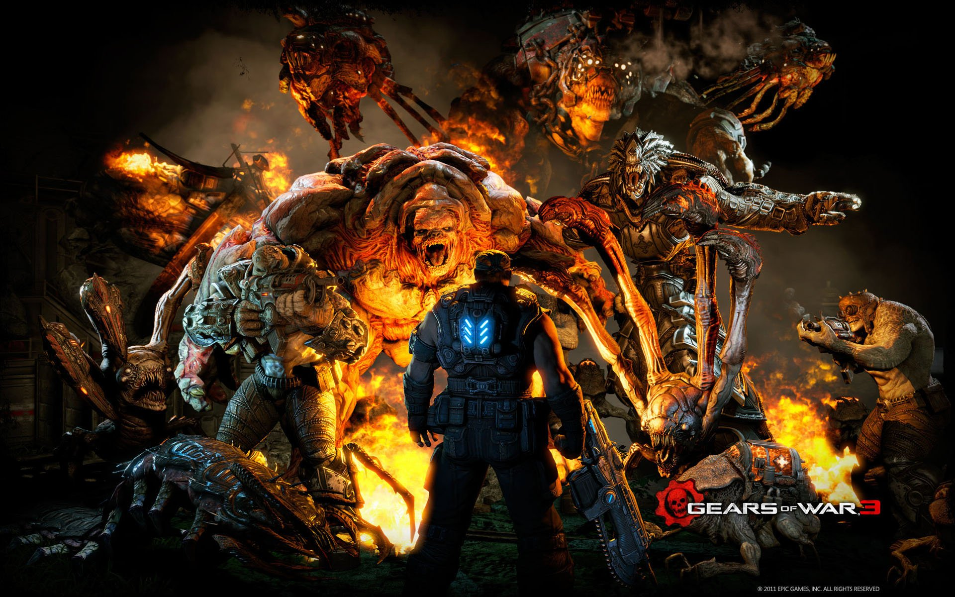 Free Download Wallpapers Gamers Gears Of War Part 4 Socialphy