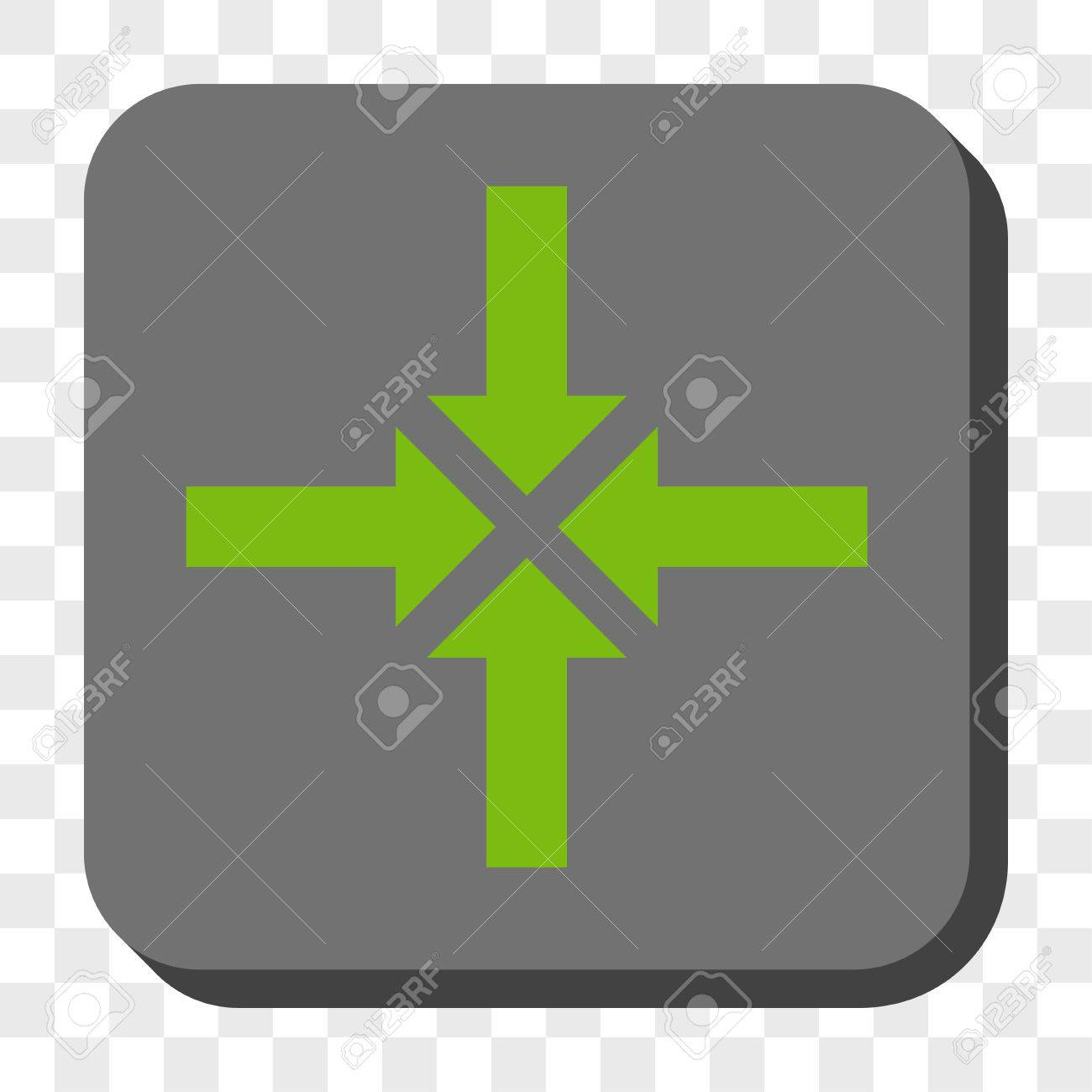 Compress Arrows Toolbar Button Vector Pictogram Style Is A Flat 1300x1300