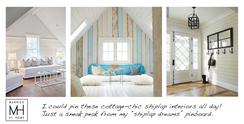 Farmhouse detail shiplap walls Married At Home 1000x508
