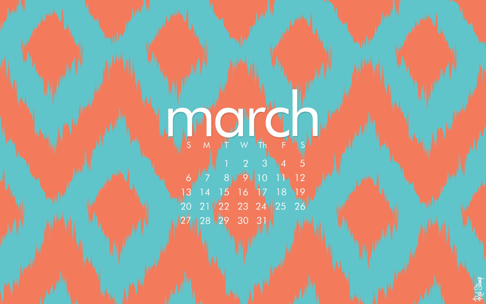 calendar desktop wallpaper images march desktop smart redstamp 1920x1200