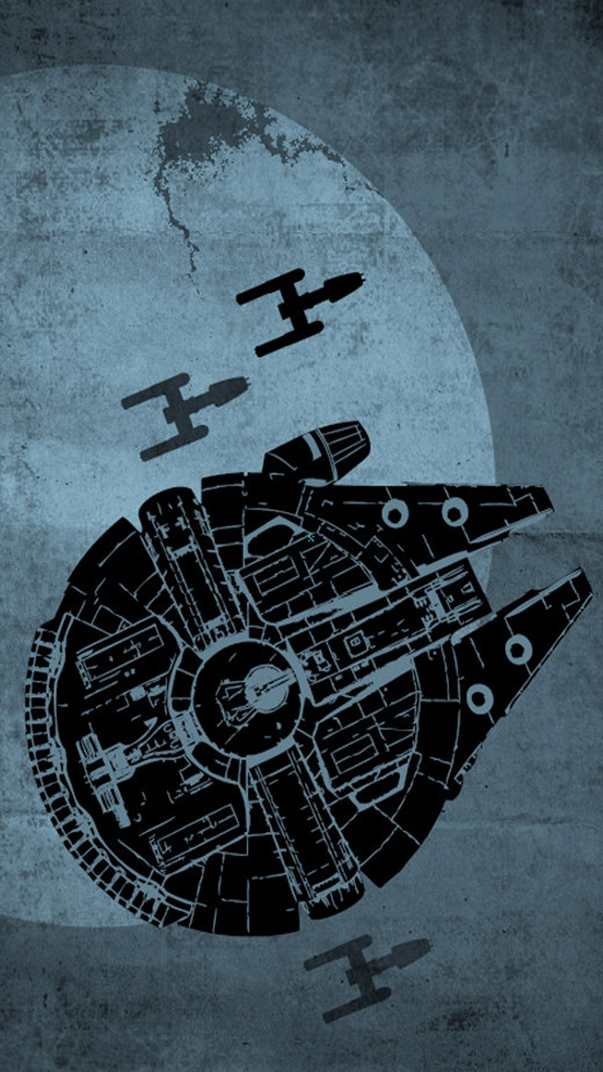 Wallpapers de Star Wars para iPhone MarcianoPhone 1242x2208