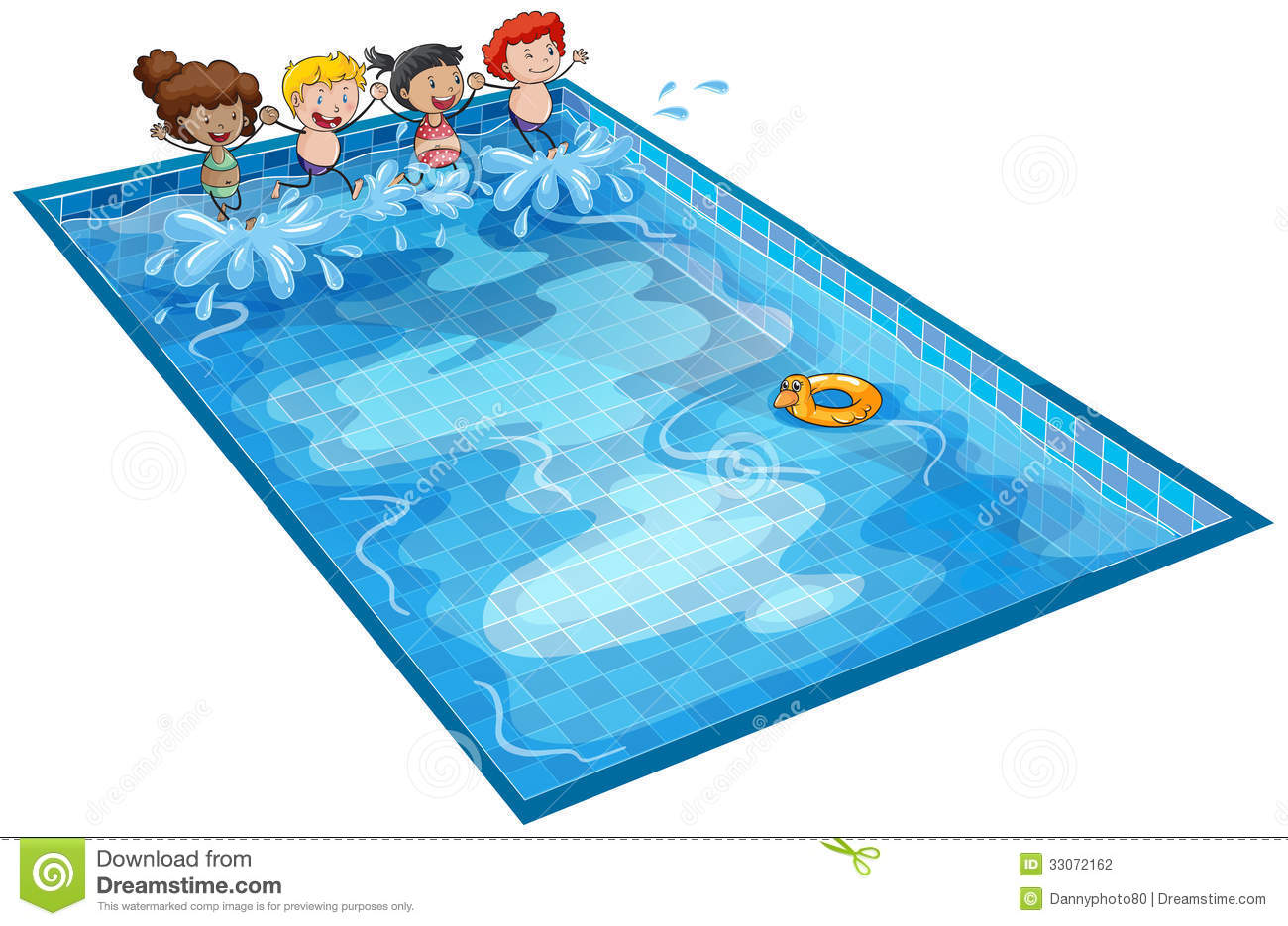 Cartoon Indoor Pool The Image Kid Has It