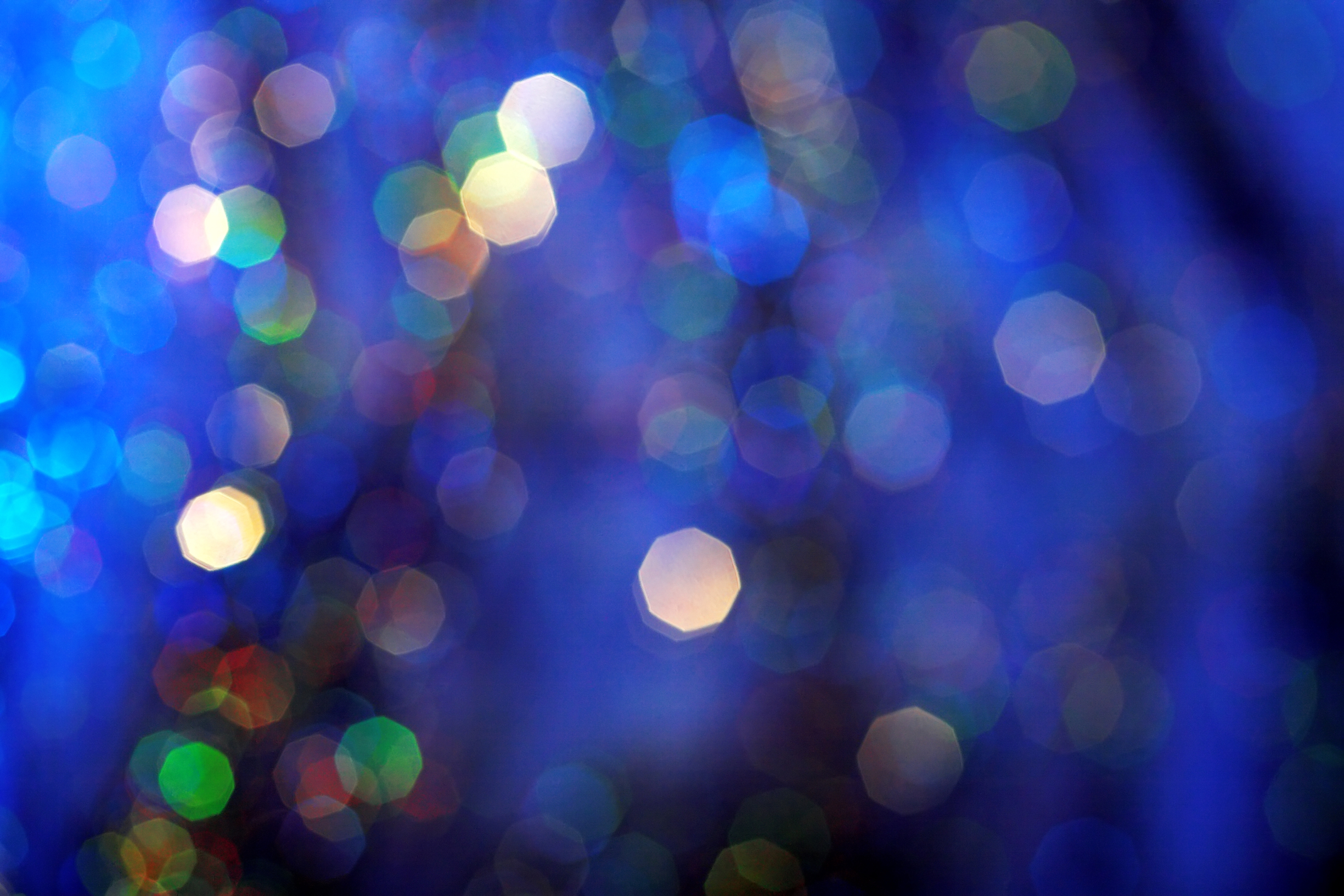 Colorful christmas light background html code