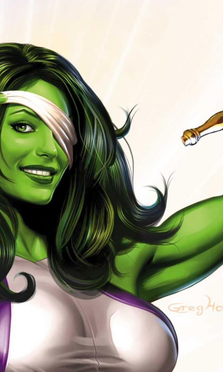 She Hulk Wallpaper Desktop 768x1280
