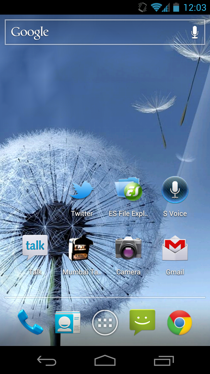 Live Wallpaper Samsung Galaxy S3