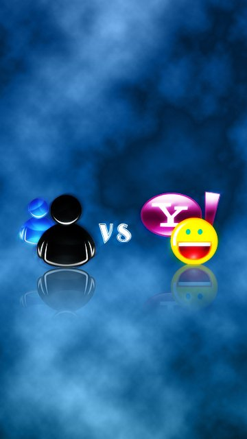Msn Vs Yahoo Mobile Phone Wallpapers 360x640 Cellphone Hd Wallpapers 360x640