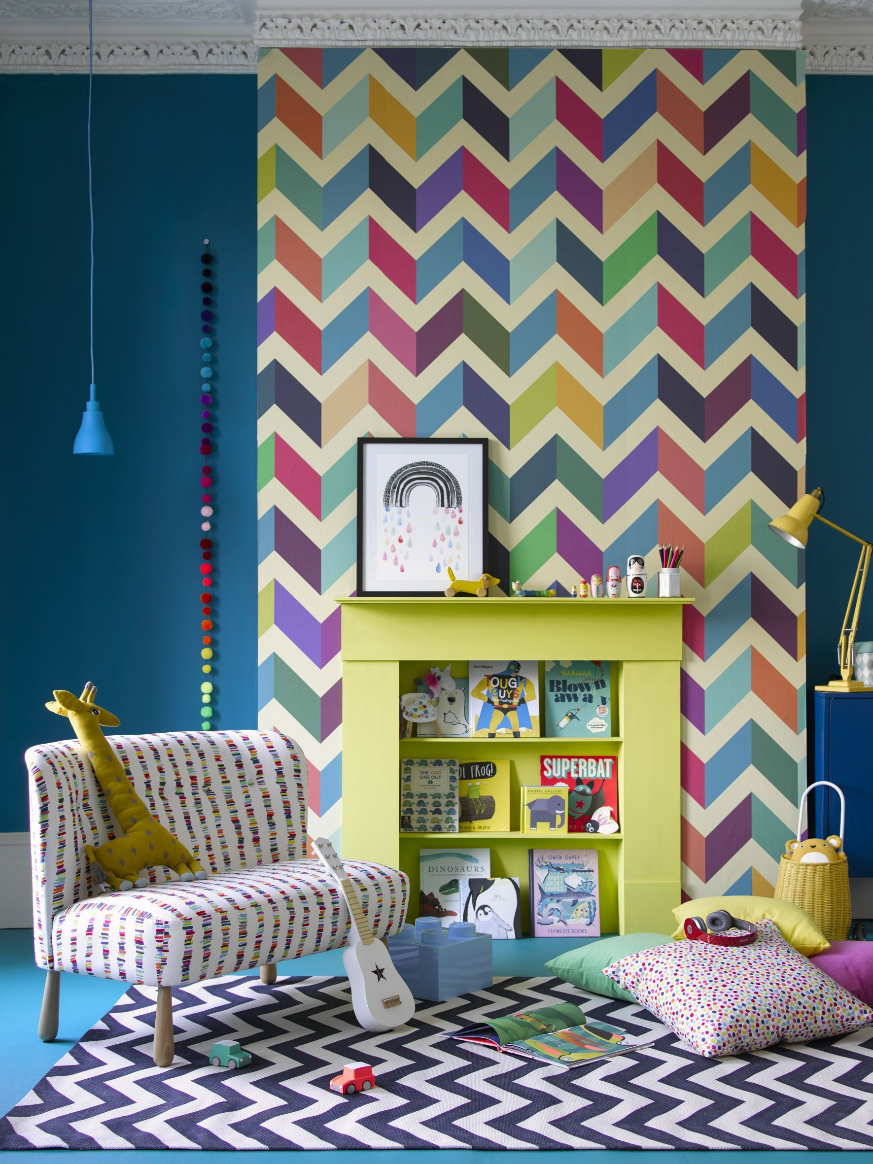 How to design a nursery in 2019 Colorful 1771x2362