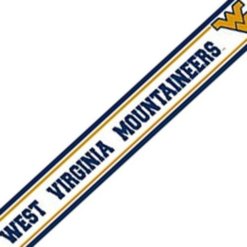 NCAA West Virginia Moutaineers Prepasted Wallpaper Border   Modern 500x500