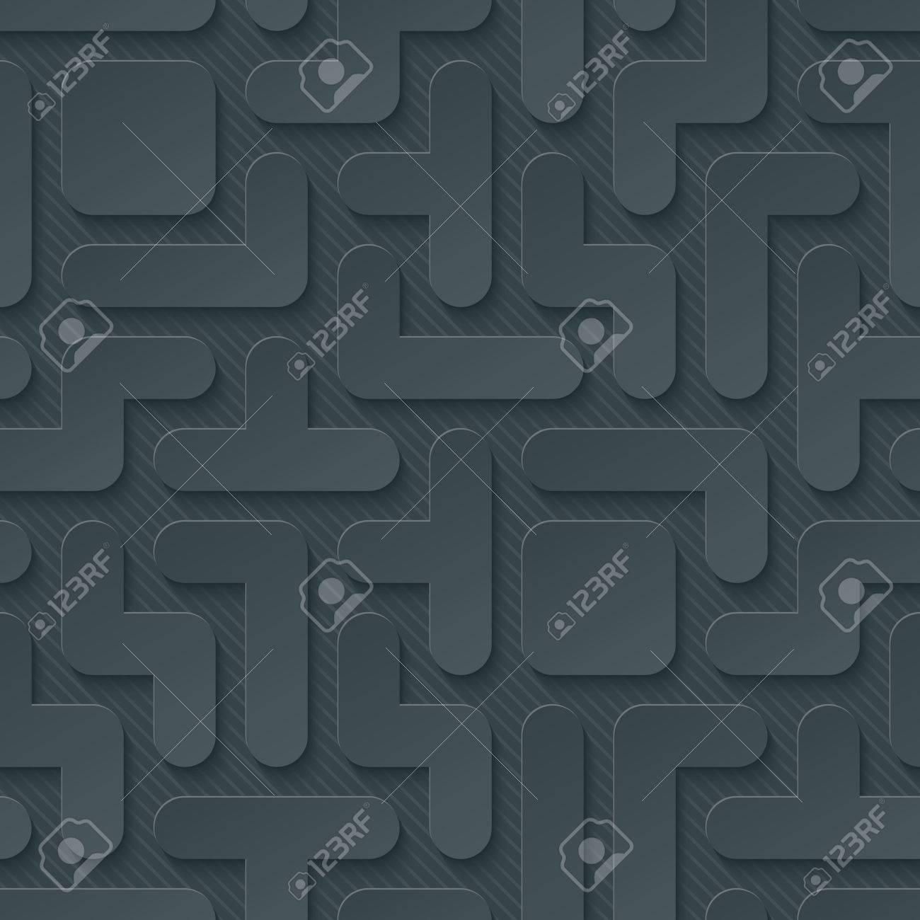 Tetris Wallpaper 3d Seamless Background Vector EPS10 Royalty 1300x1300