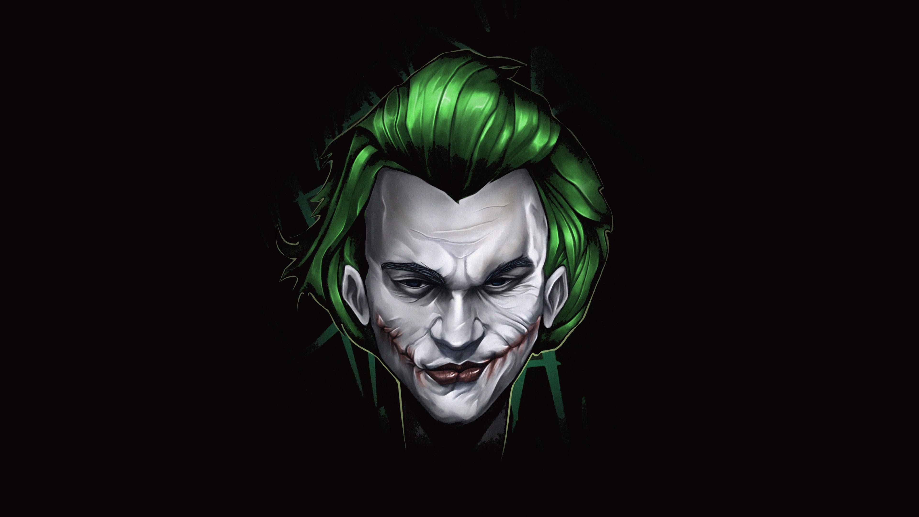 Joker Art Background Image HD HD Wallpapers 3840x2160
