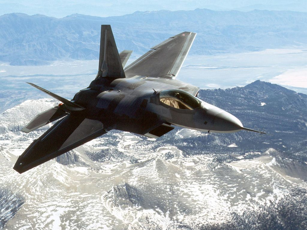 Raptor F 22 The Greatest Fighter Jet Aircraft World Car Review 1024x768