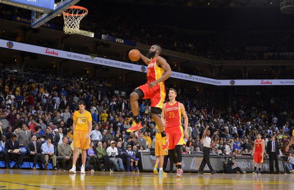 James Harden Rockets Jump Shot 594x384