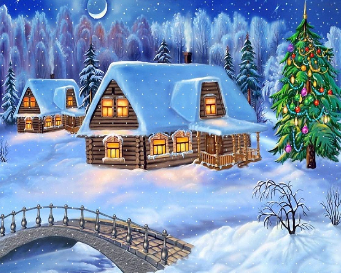animated christmas desktop animated christmas wallpaper with music 1118x894