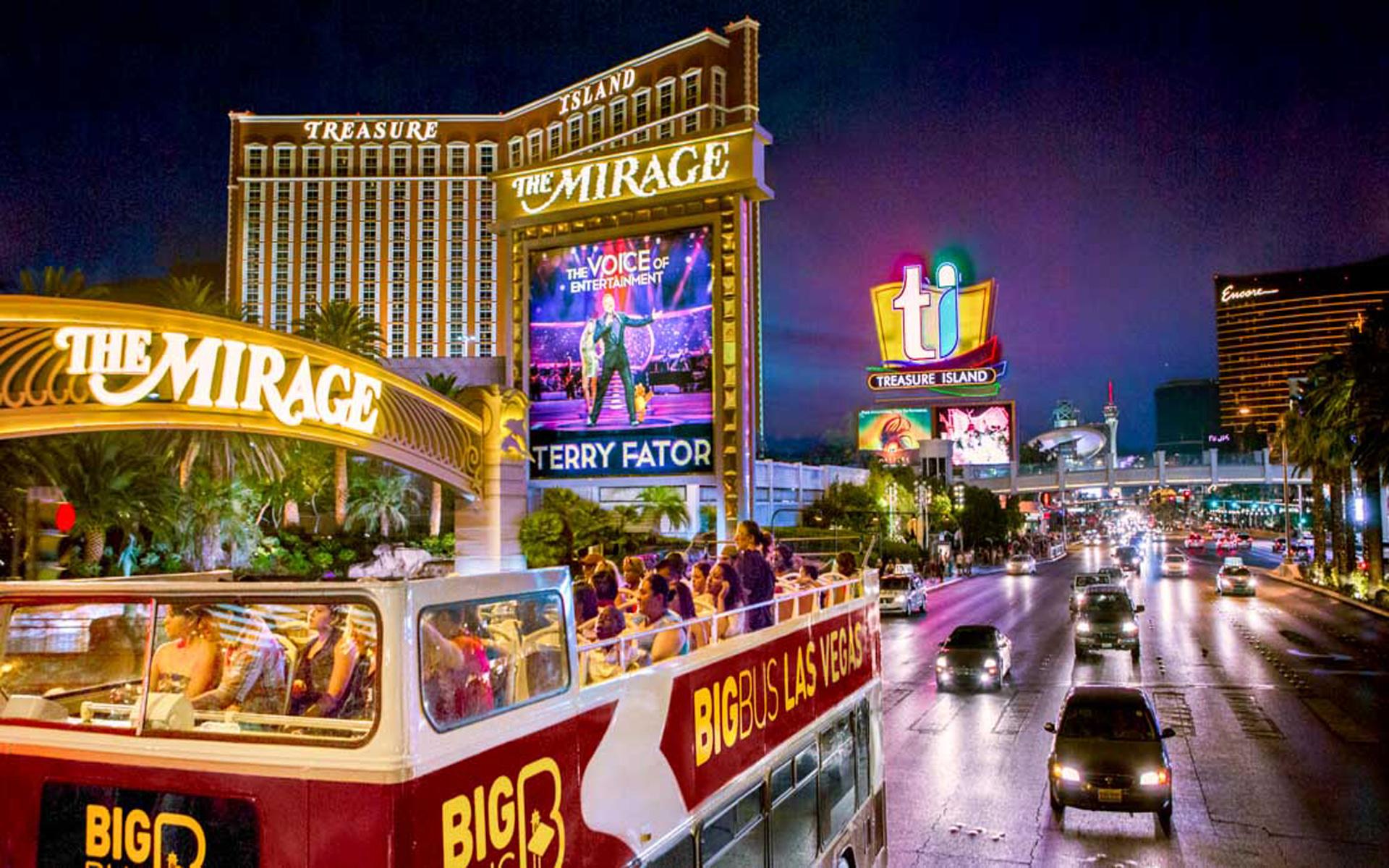 Treasure Island Ti Hotel Casino Las Vegas Strip Wallpaper Hd 1920x1200