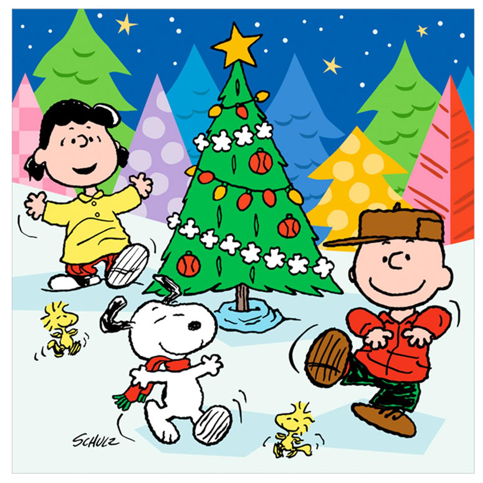 CHARLIE BROWN peanuts comics snoopy christmas f wallpaper 1600x1600 1600x1600