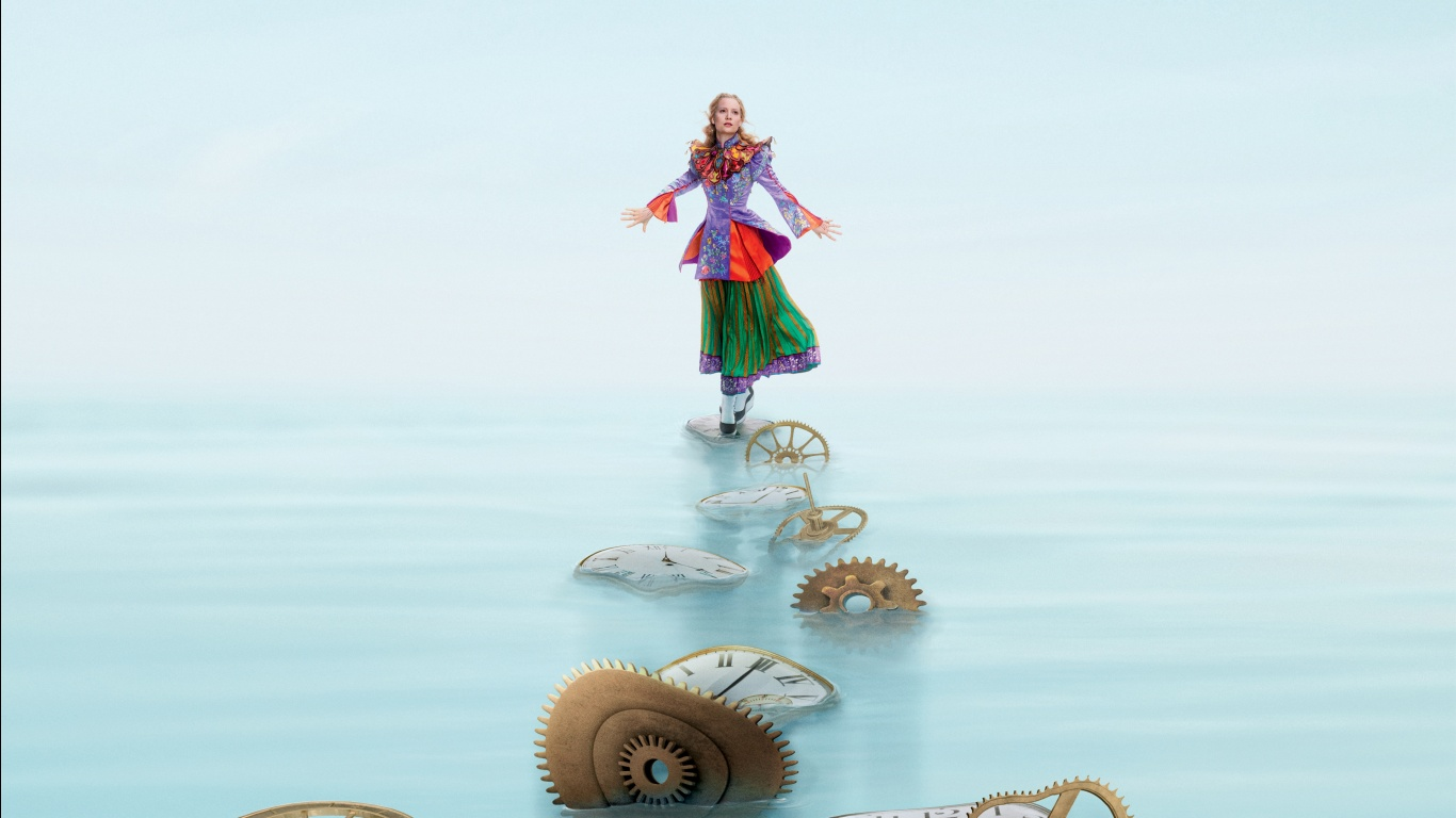 Alice Through the Looking Glass Alice Wallpapers HD Wallpapers 1366x768
