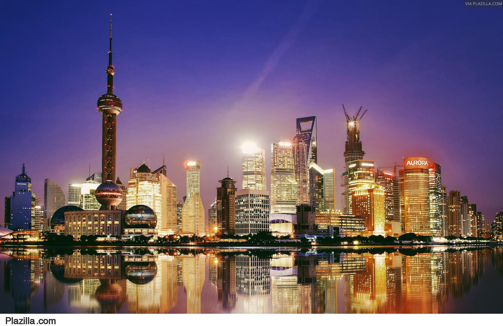 Pudong skyline Shanghai   China   Plazillacom 1638x1064
