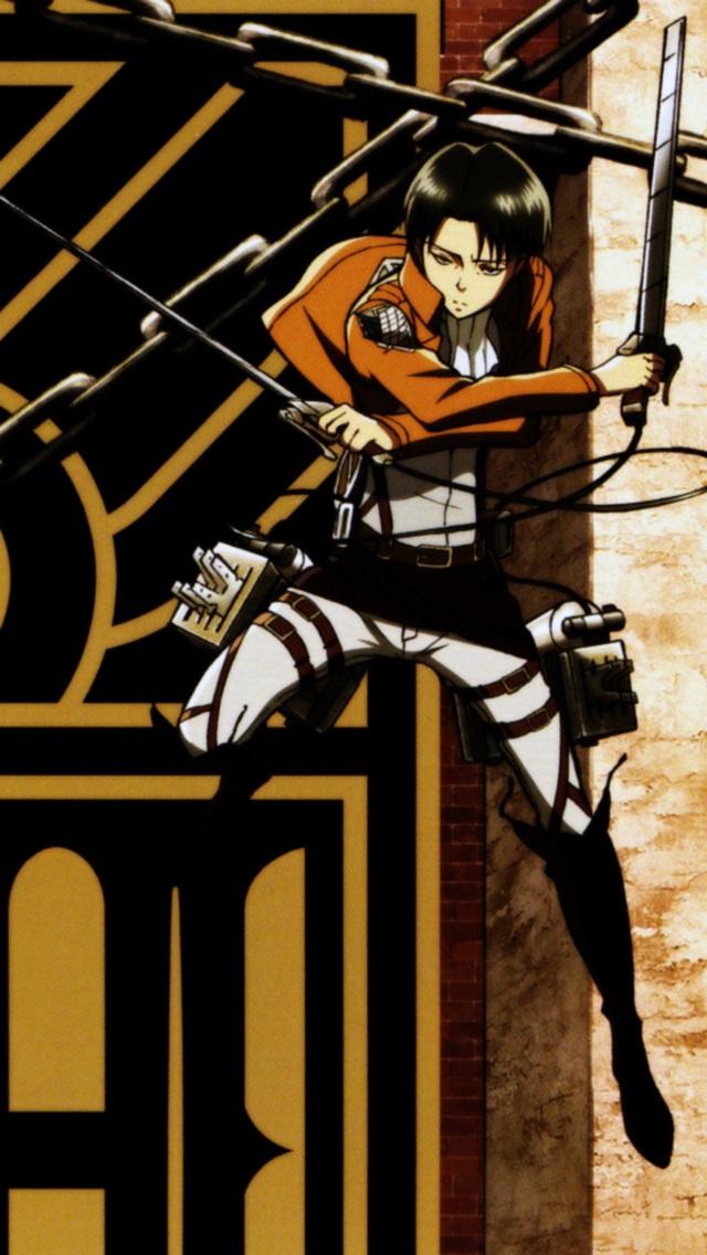 Levi Attack On Titan Iphone Wallpaper Shingeki no kyojinlevi 640x1136