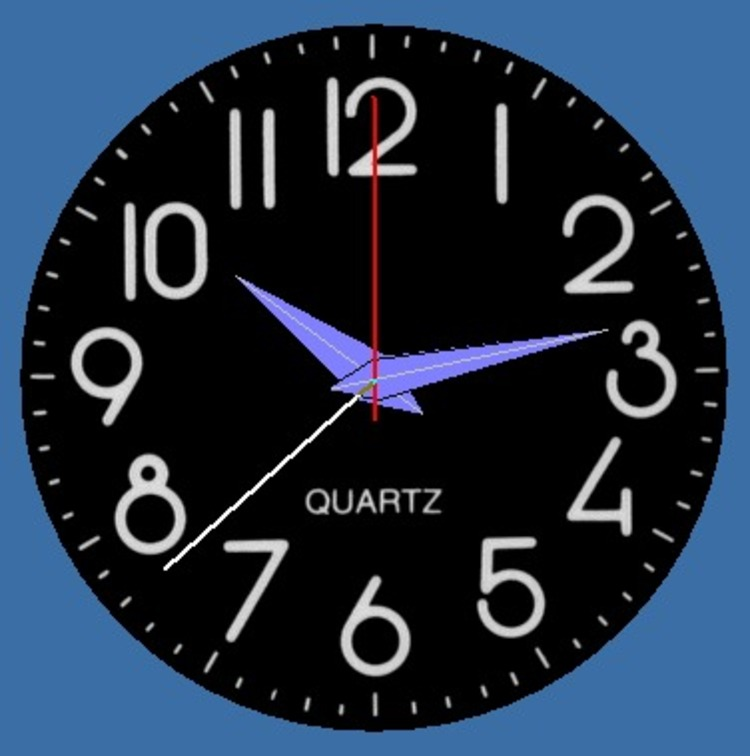 Round Clock Screenshot 750x756