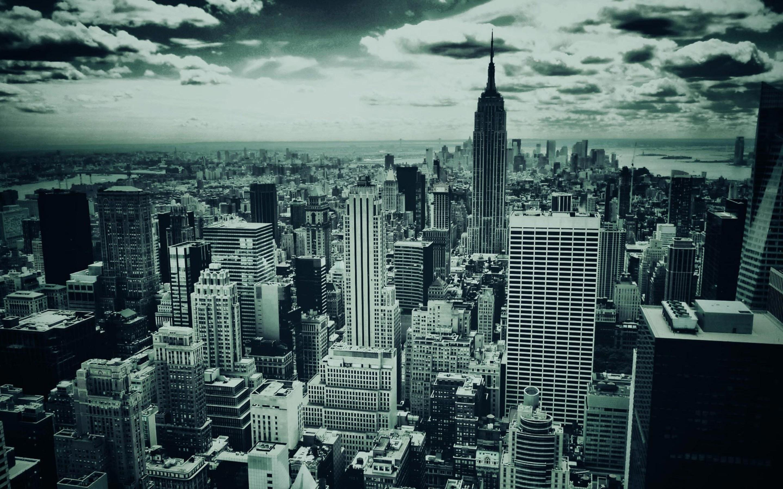 Dark New York HD Wallpaper 2880x1800