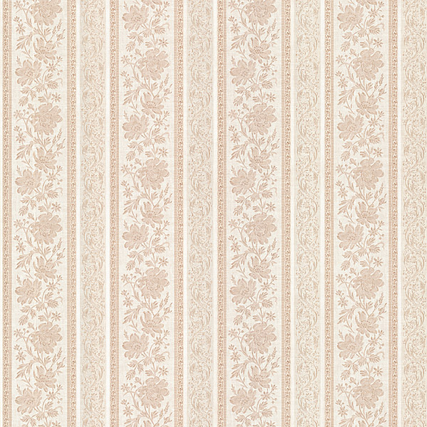 987 56578 Pink Floral Stripe   Lissandra   Mirage Wallpaper 600x600