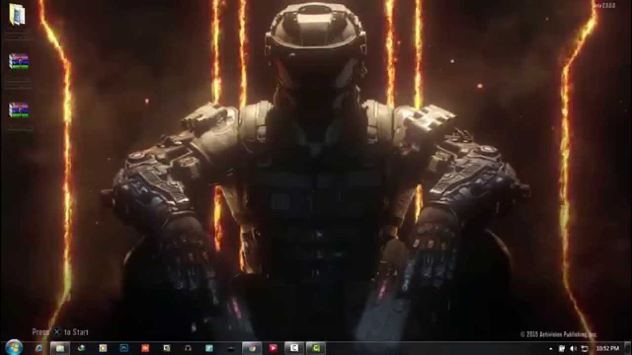 Tutorial ] How to Set Live Wallpaper in Windows 7 Black Ops 3 1280x720