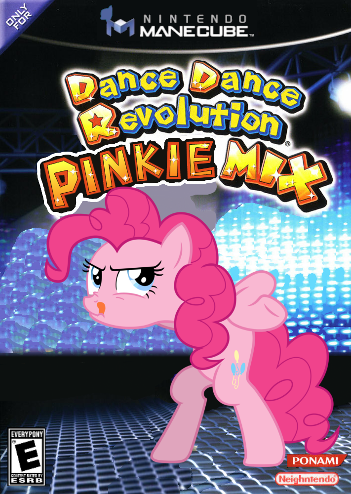 Dance Dance Revolution Pinkie Mix by nickyv917 711x1000