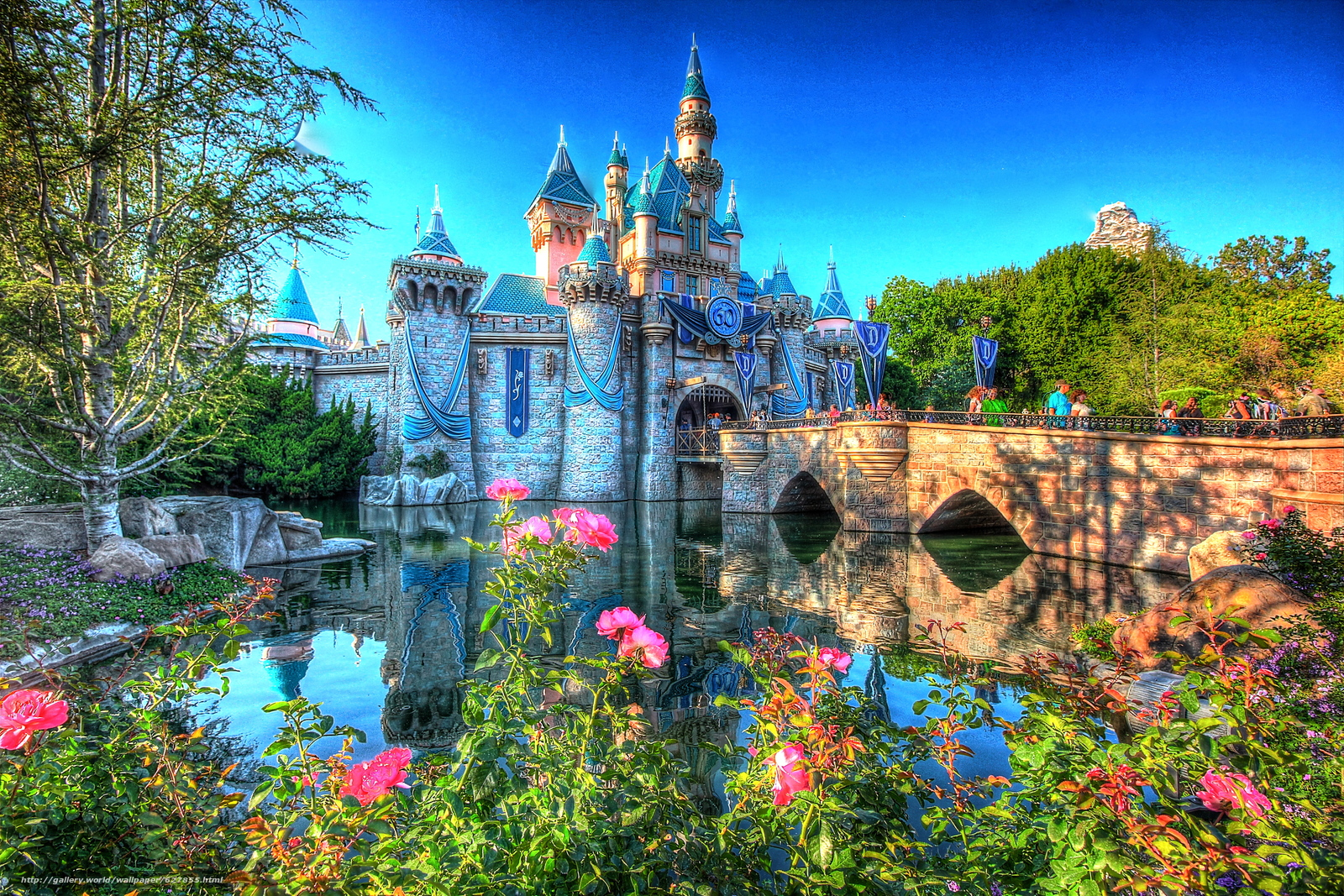 Download wallpaper Disneyland Southern California It celebrated its 1600x1067
